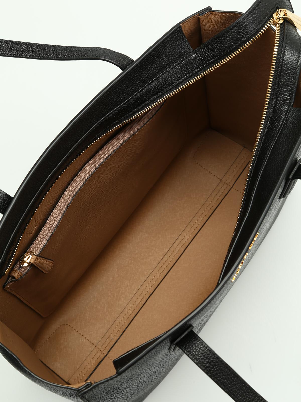 michael kors shopper schwarz handtaschen. Black Bedroom Furniture Sets. Home Design Ideas