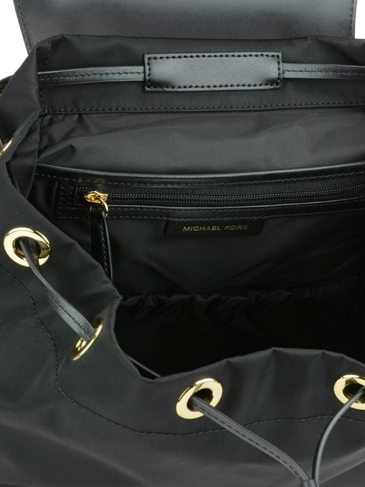 e5b30ffcb9a5 Michael Kors - Mott L black nylon diaper backpack - backpacks ...