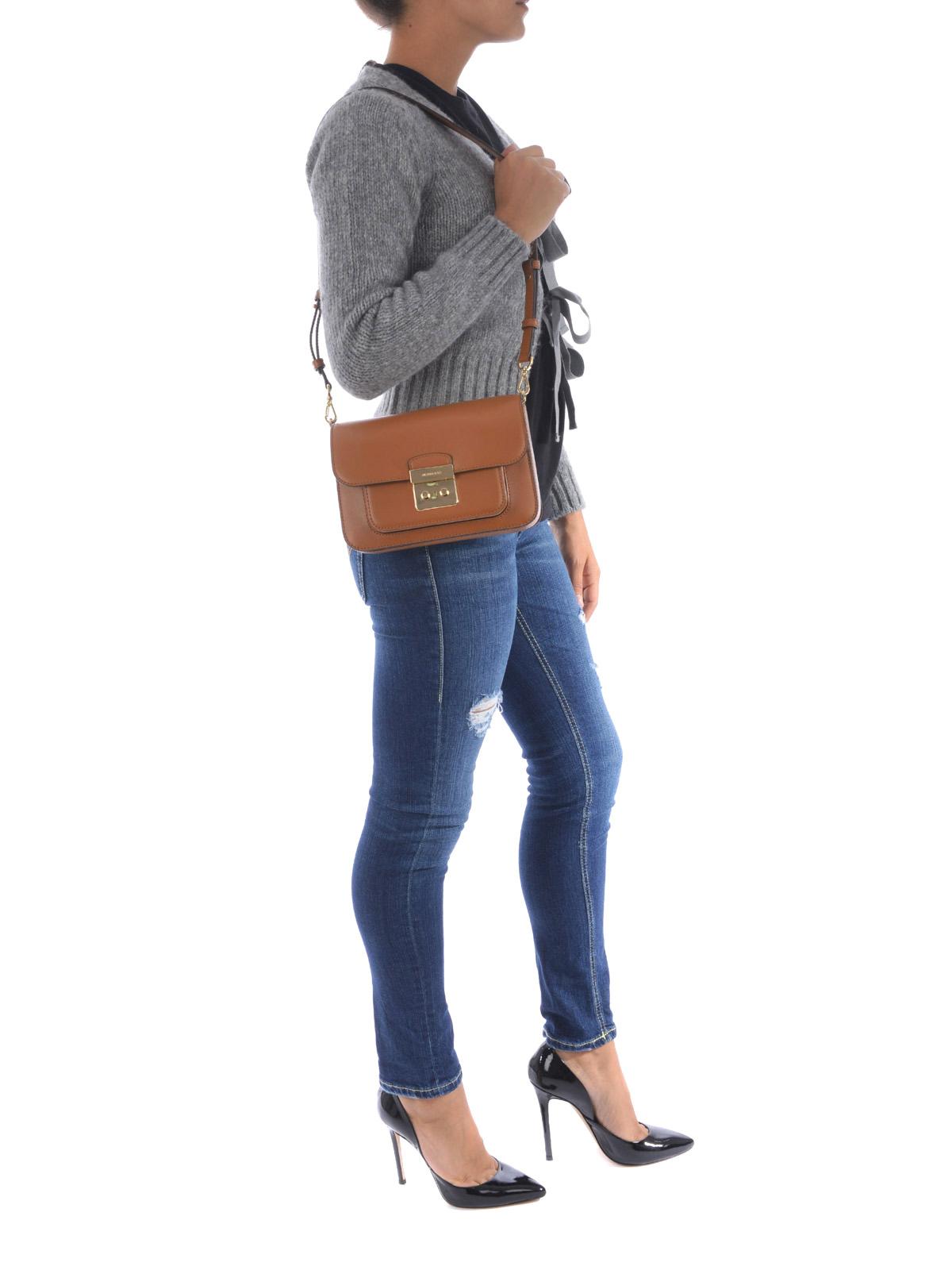 071b7e4df65b Michael Kors - Sloan Editor large leather bag - shoulder bags ...