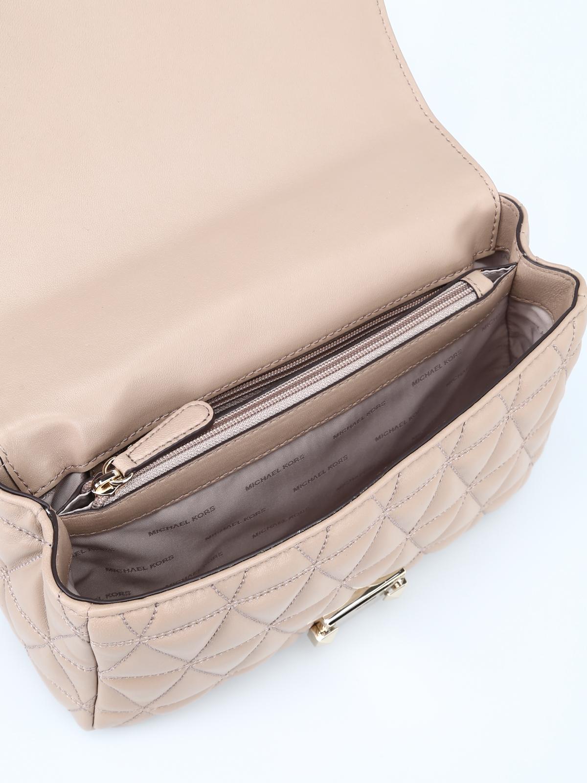 f52c84369c0a Michael Kors - Sloan large diamond quilted shoulder bag - shoulder ...