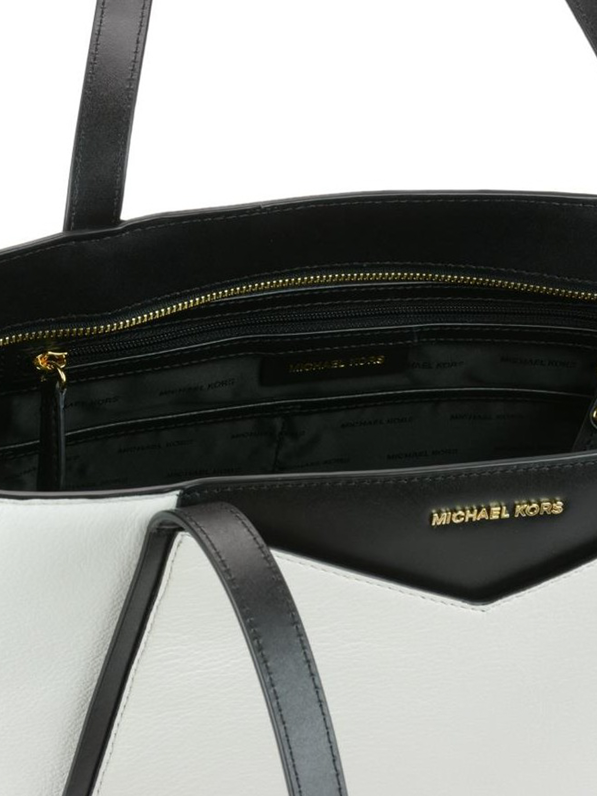 fca0004831e9 MICHAEL KORS buy online Whitney bicolour leather large tote. MICHAEL KORS: totes  bags ...