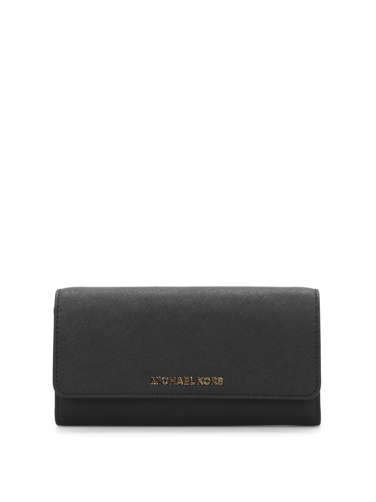 jet set travel leather clutch by michael kors clutches. Black Bedroom Furniture Sets. Home Design Ideas