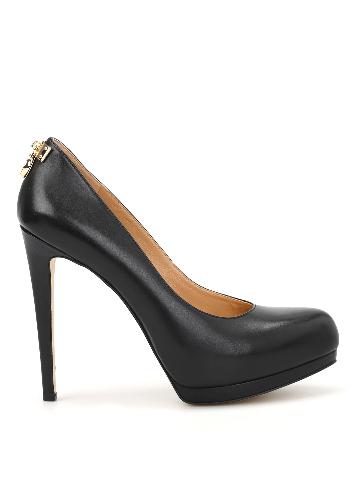 Michael Kors Hamilton Laukku : Hamilton leather pumps by michael kors court shoes ikrix