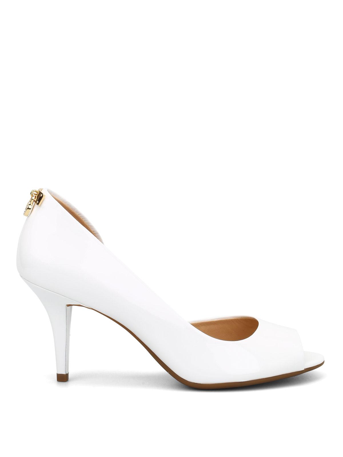 8efc3af68e18 Michael Kors - Hamilton patent leather court shoes - court shoes ...
