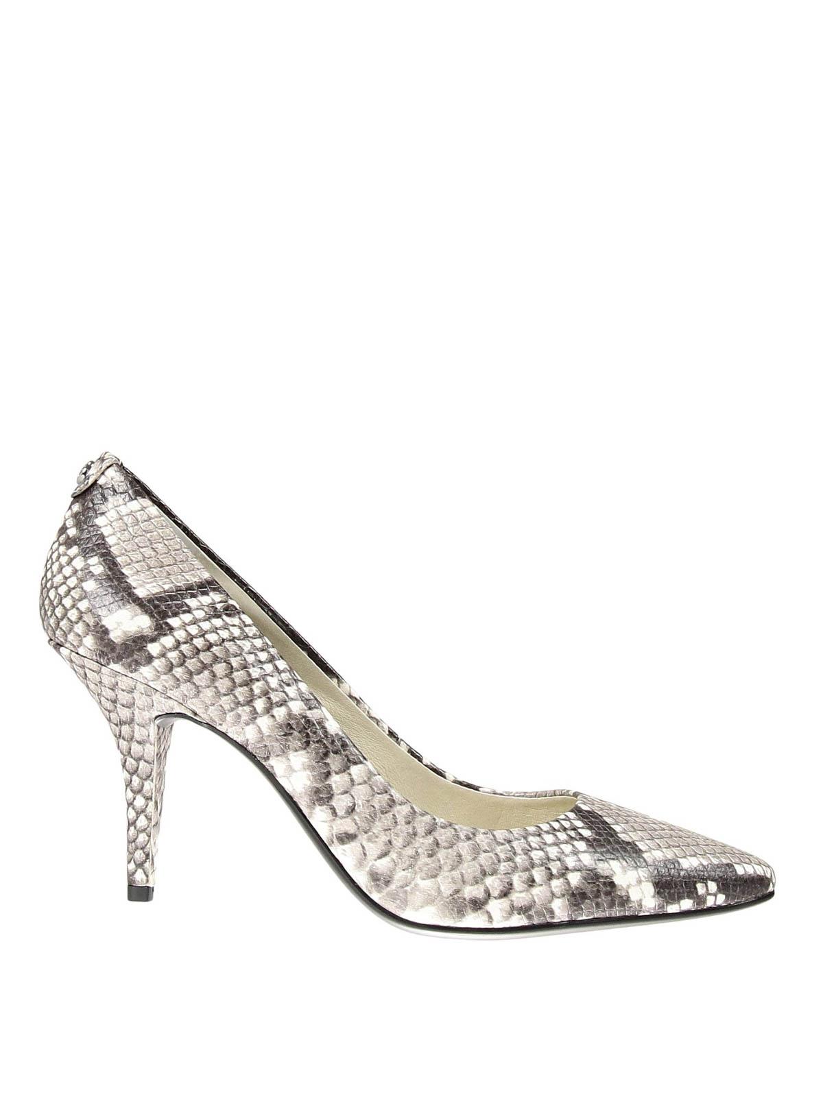 9feb262d3 Michael Kors - Snake print leather pumps - court shoes - 40T5MFMP3E