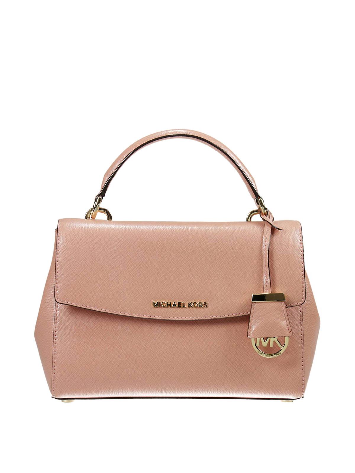 1e537e76201d9 Michael Kors - Ava small saffiano satchel - cross body bags ...