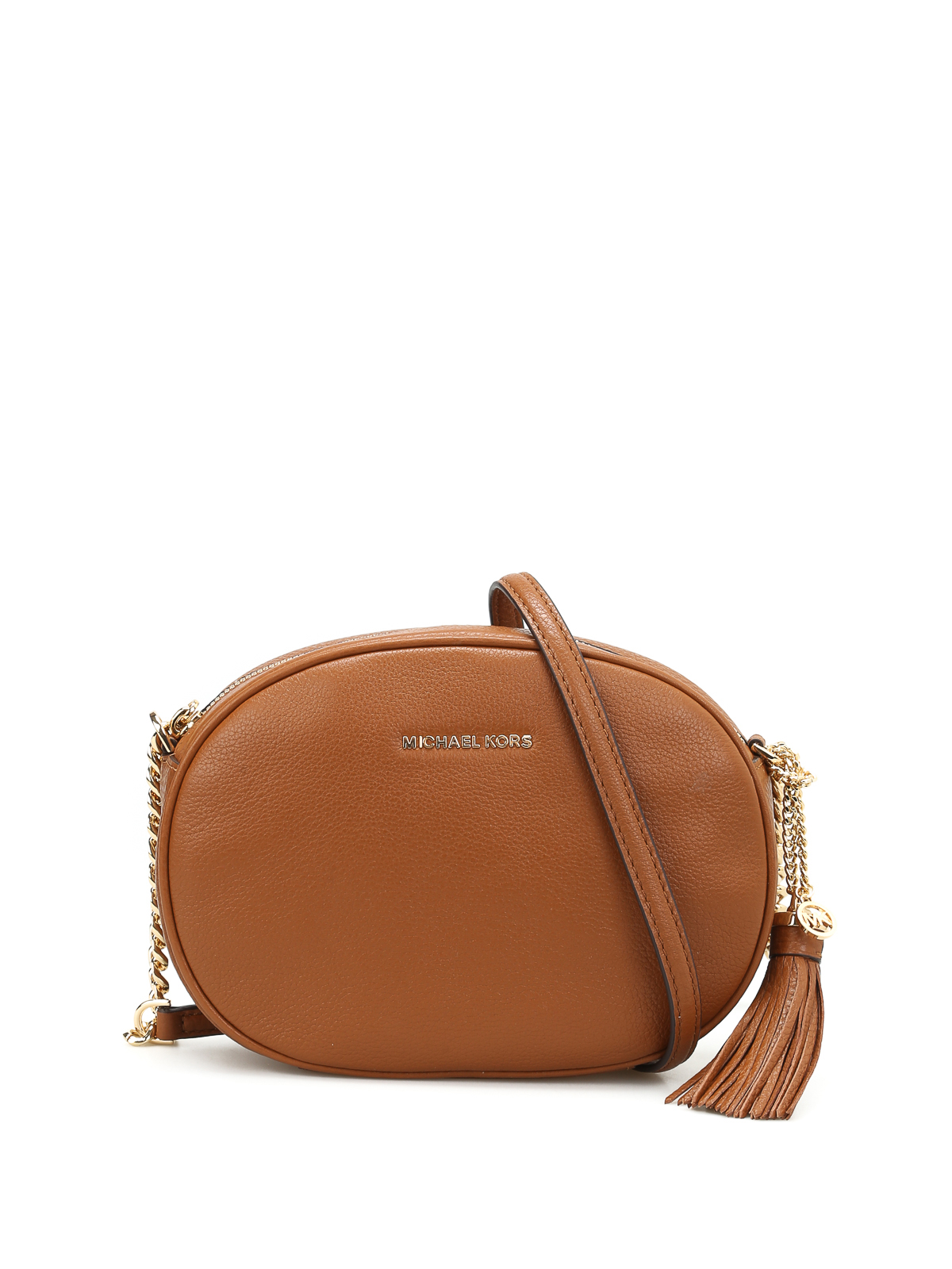 d2c276b428341d Michael Kors - Ginny leather medium crossbody - cross body bags ...