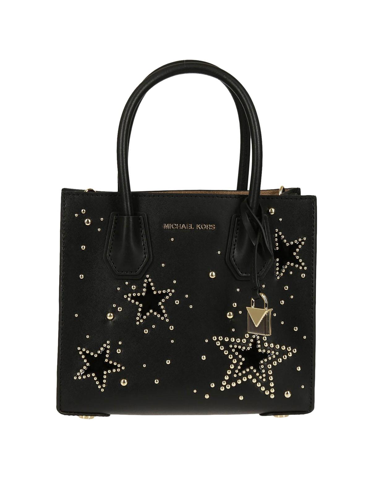 Michael Kors Mercer S studded stars bag RvIv4uCl