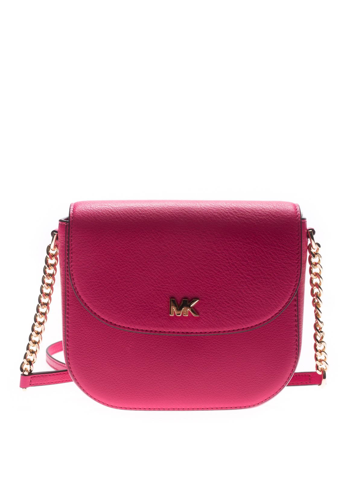 b08bffb6bc7a Michael Kors - Mott grainy leather dome crossbody - cross body bags ...