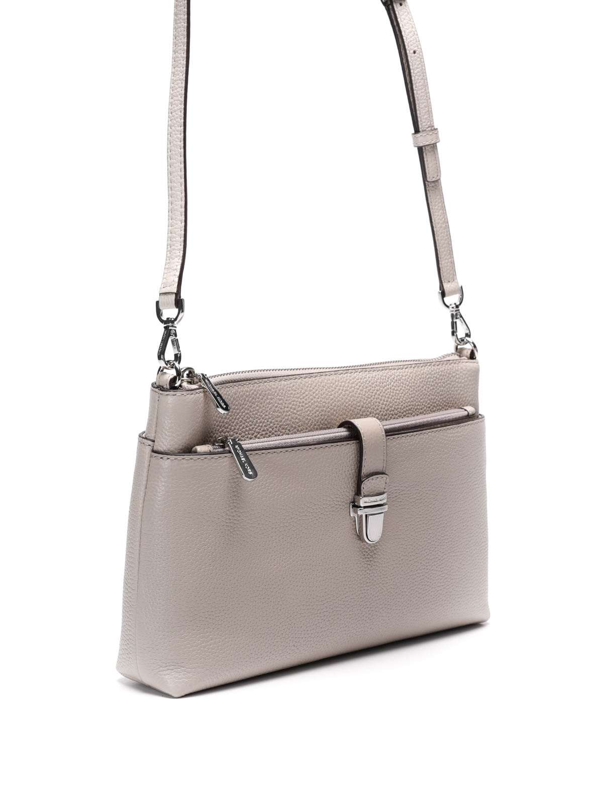 e601063c48c245 Hammered leather crossbody bag by Michael Kors - cross body bags | iKRIX