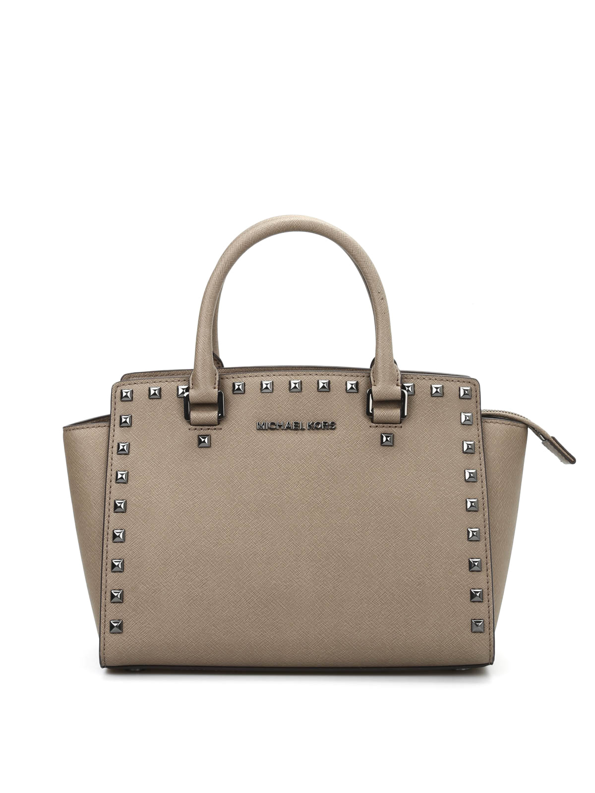 Michael Kors Crossbody Laukut : Studded selma medium crossbody by michael kors cross