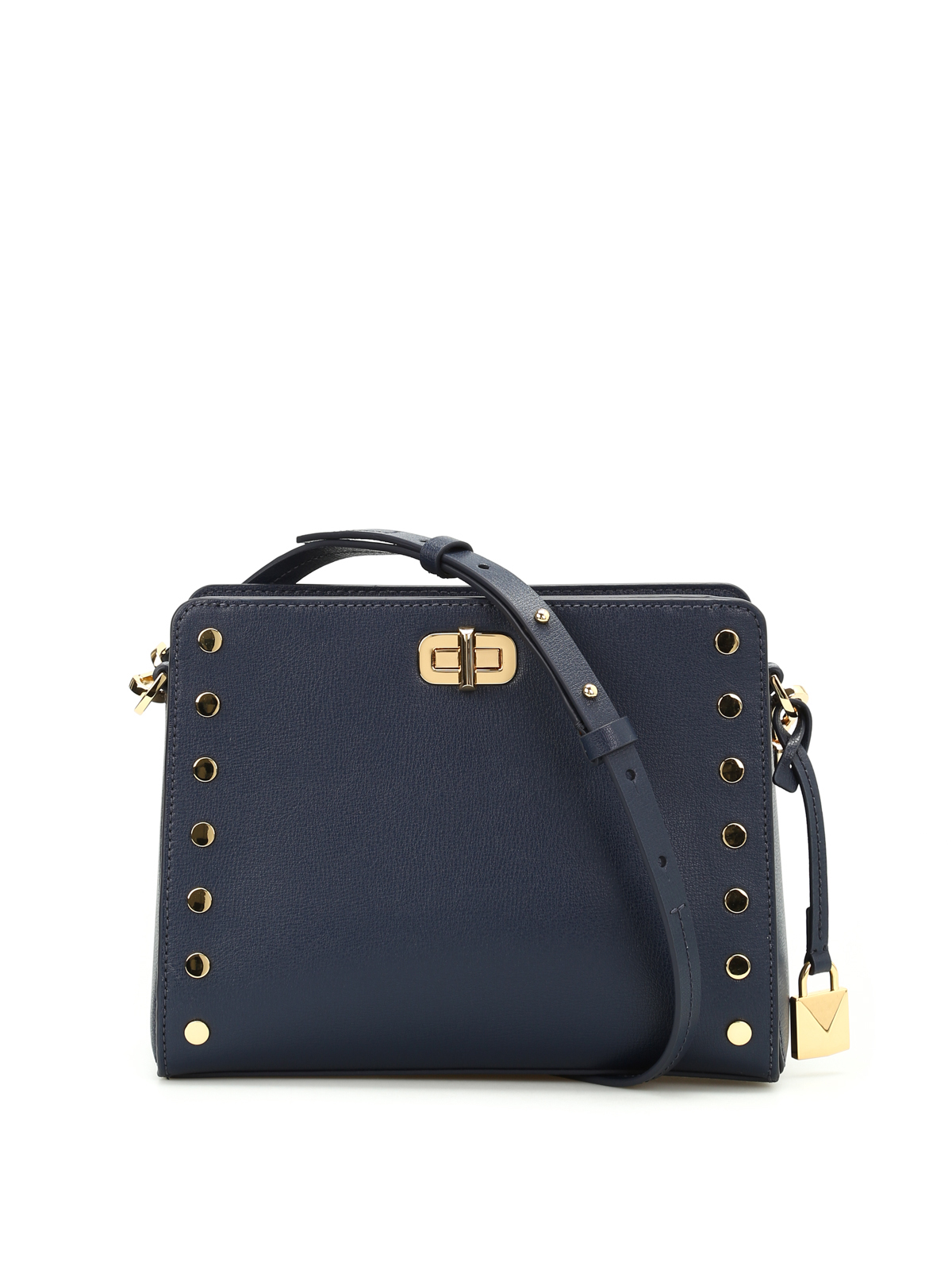 46999f39fdb5 Michael Kors - Sylvie studded messenger bag - cross body bags ...