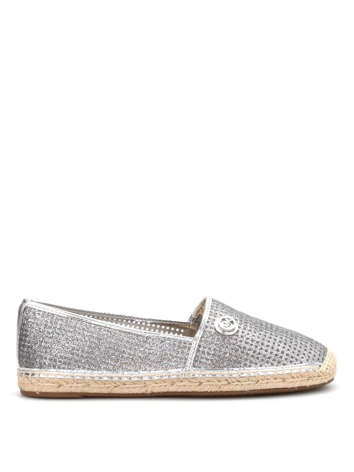 kendrick metallic mesh espadrilles by michael kors espadrilles ikrix. Black Bedroom Furniture Sets. Home Design Ideas