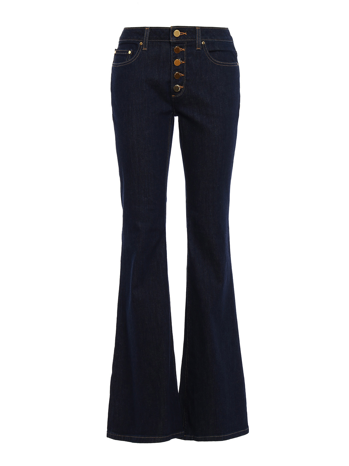 selma high waisted flared jeans by michael kors flared jeans ikrix. Black Bedroom Furniture Sets. Home Design Ideas