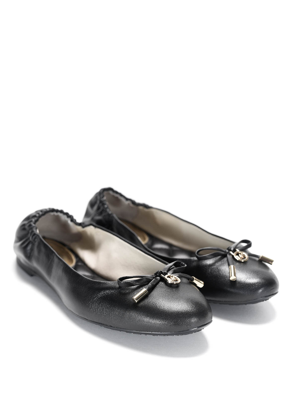 Michael Kors - Melody Leather Flat Shoes
