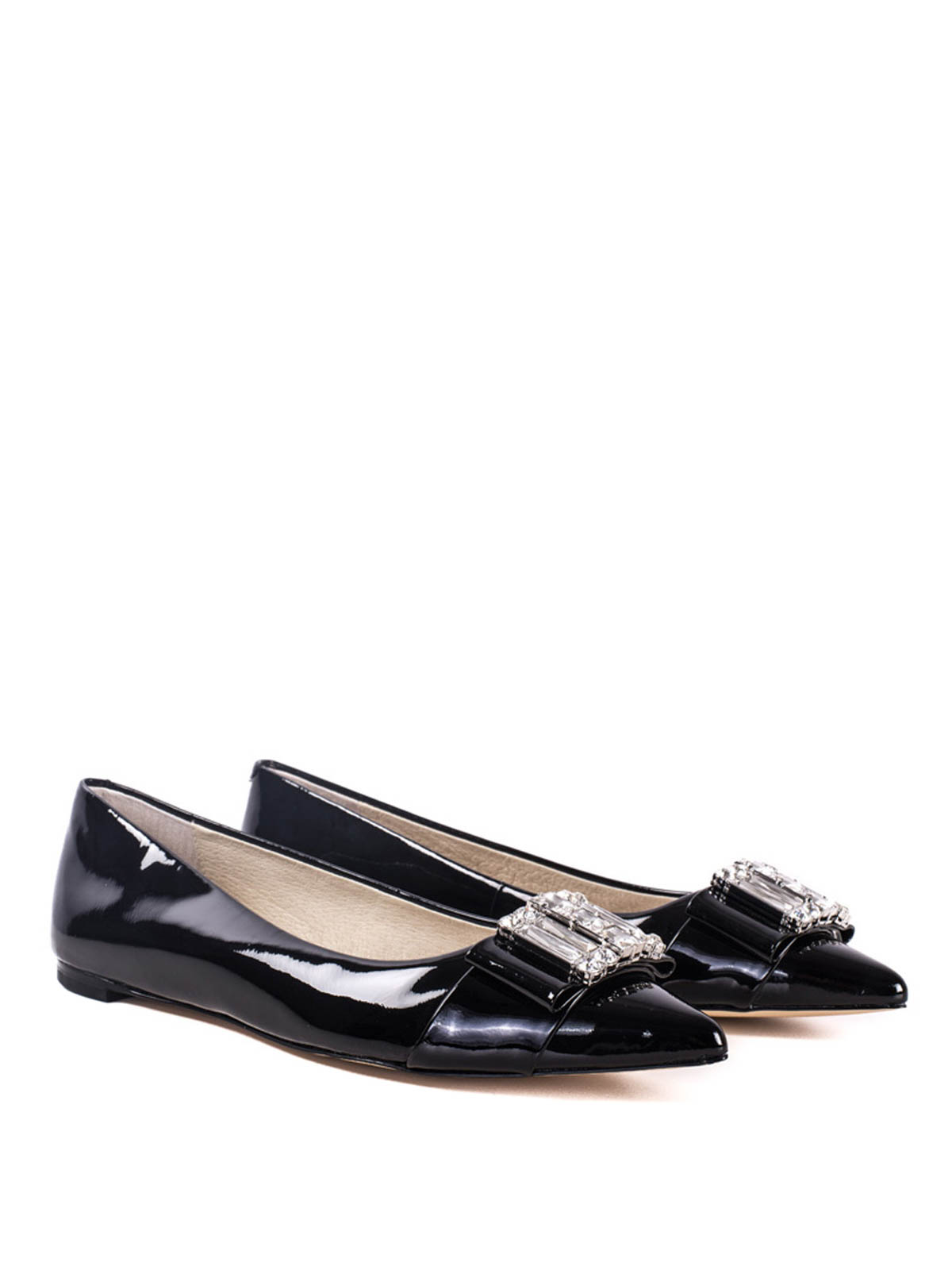 patent leather flats by michael kors flat shoes