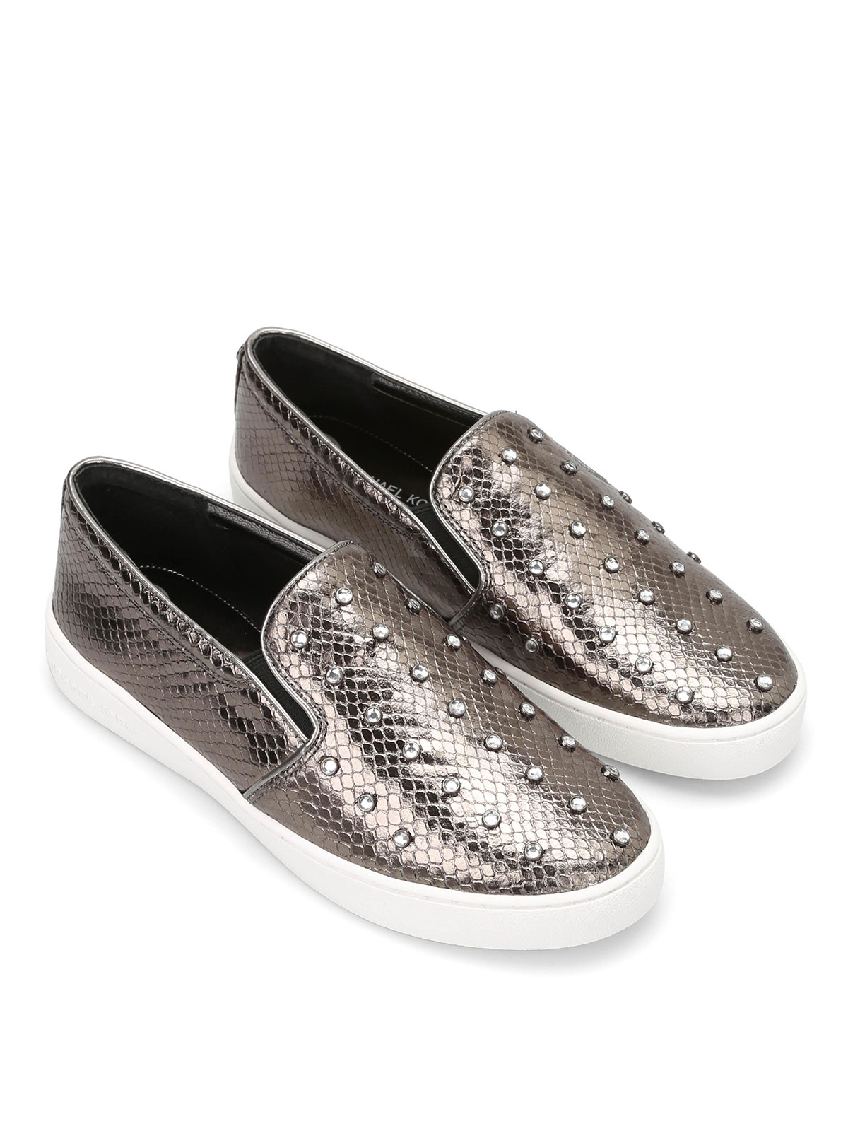 petra slip ons by michael kors loafers slippers shop. Black Bedroom Furniture Sets. Home Design Ideas