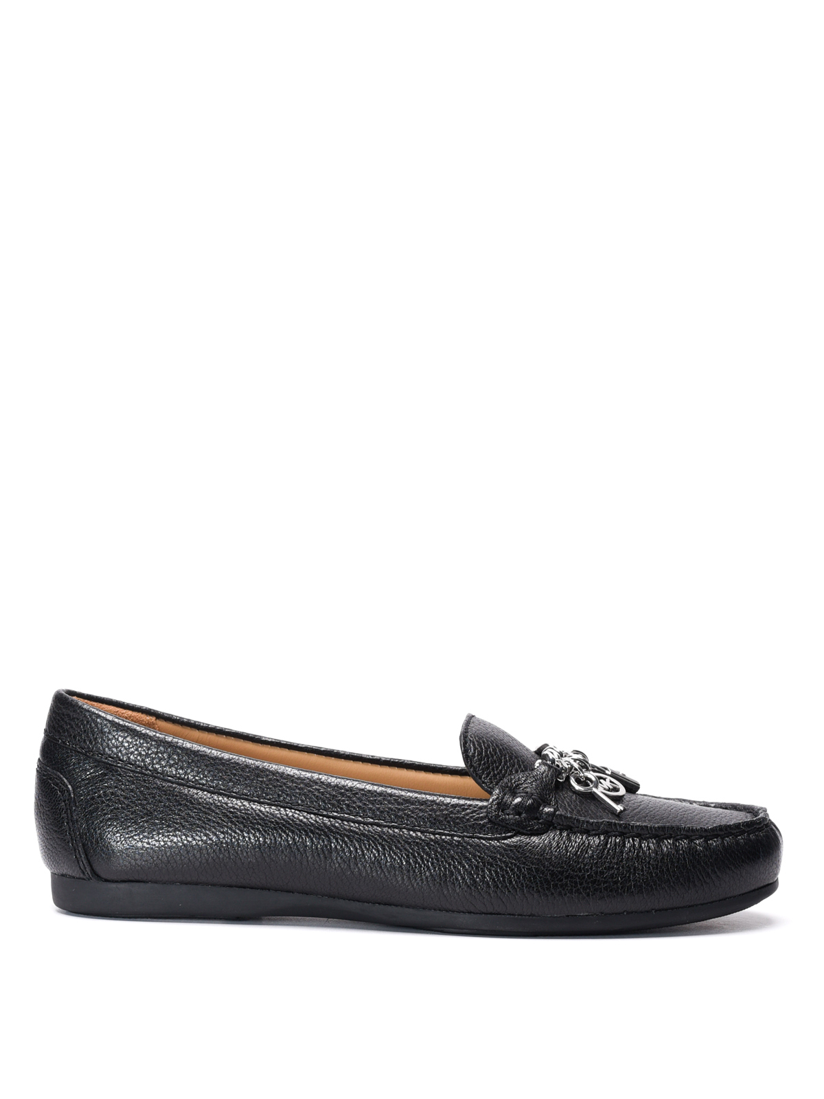 suki leather loafers by michael kors loafers slippers. Black Bedroom Furniture Sets. Home Design Ideas