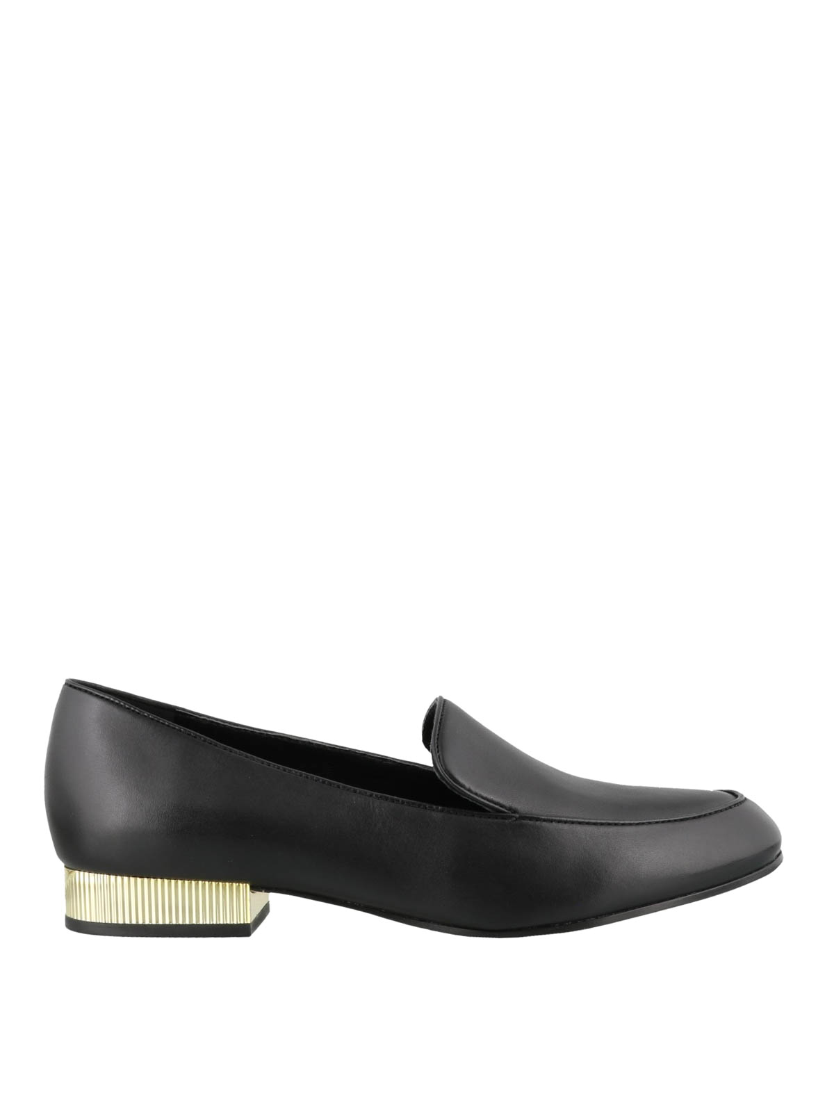 Michael Kors - Valerie leather loafers