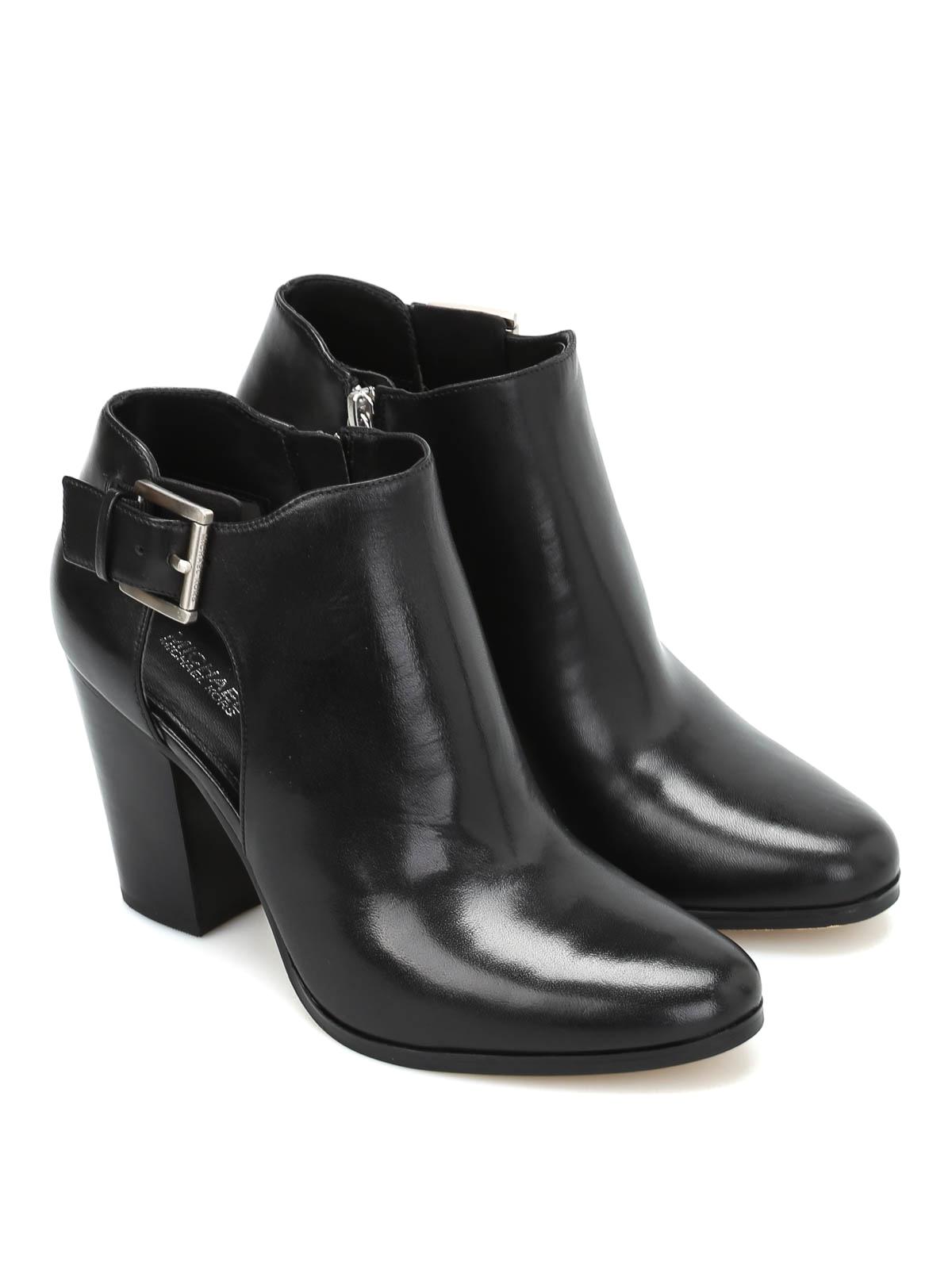 Michael Kors - Adams leather booties