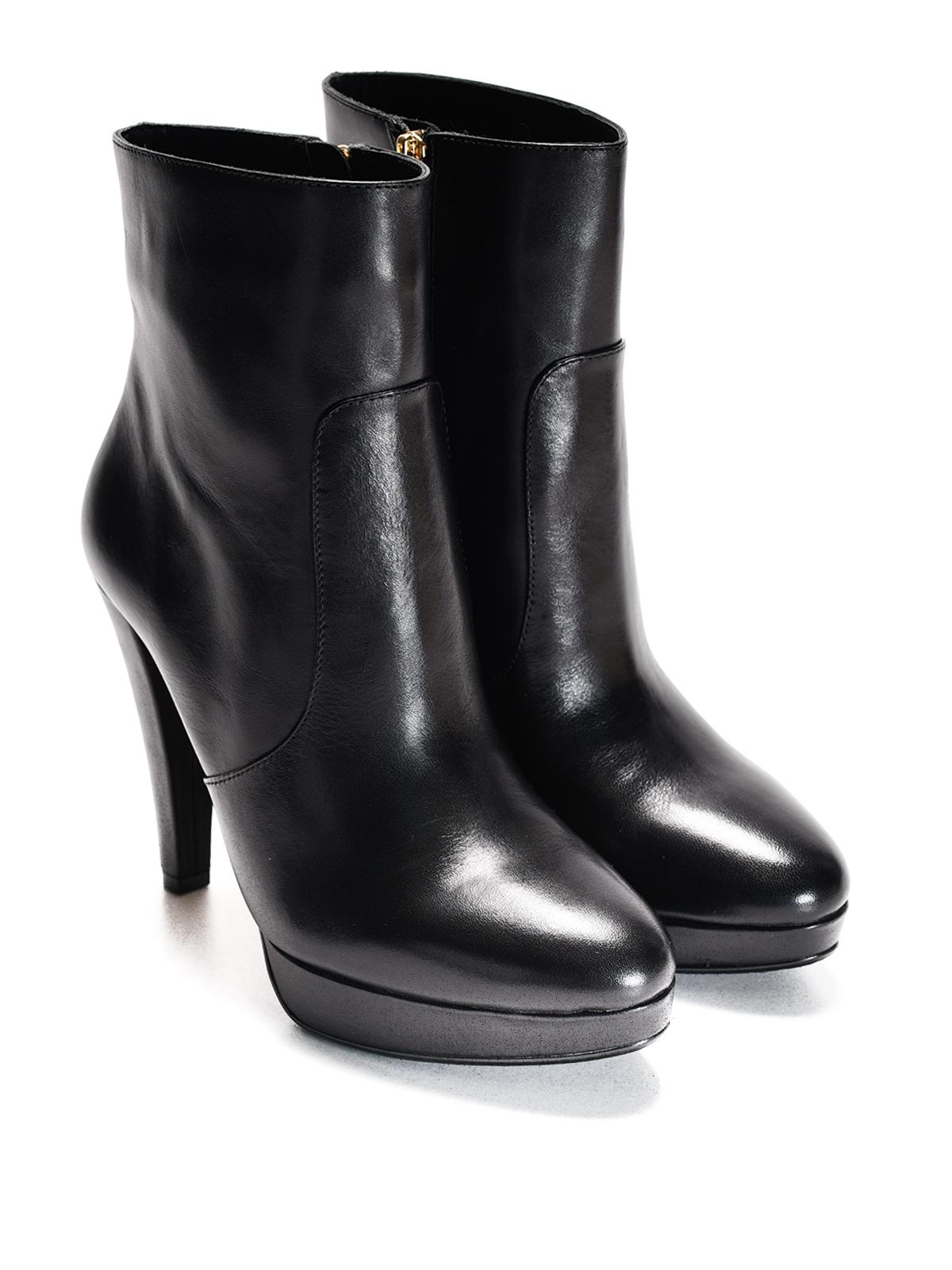 michael kors georgia platform ankle boots ankle boots. Black Bedroom Furniture Sets. Home Design Ideas