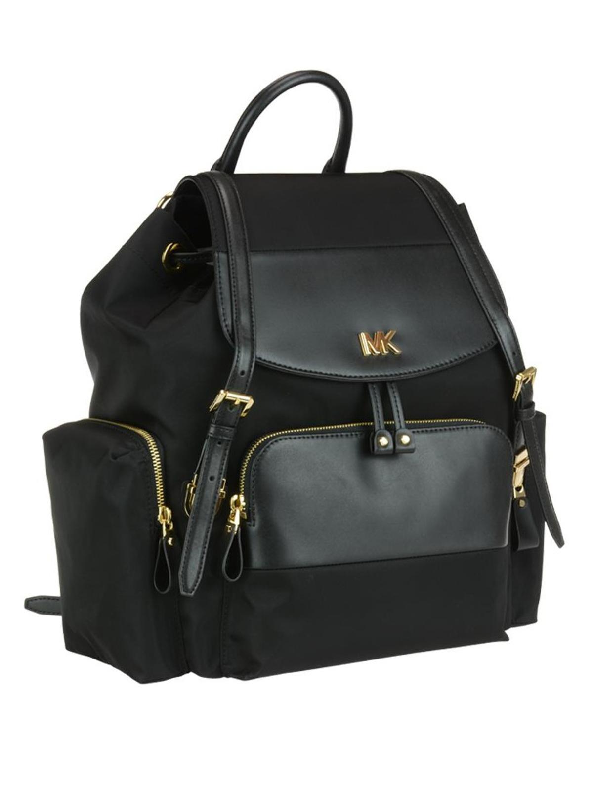 34059fdeaed1f2 MICHAEL KORS: backpacks online - Mott L black nylon diaper backpack