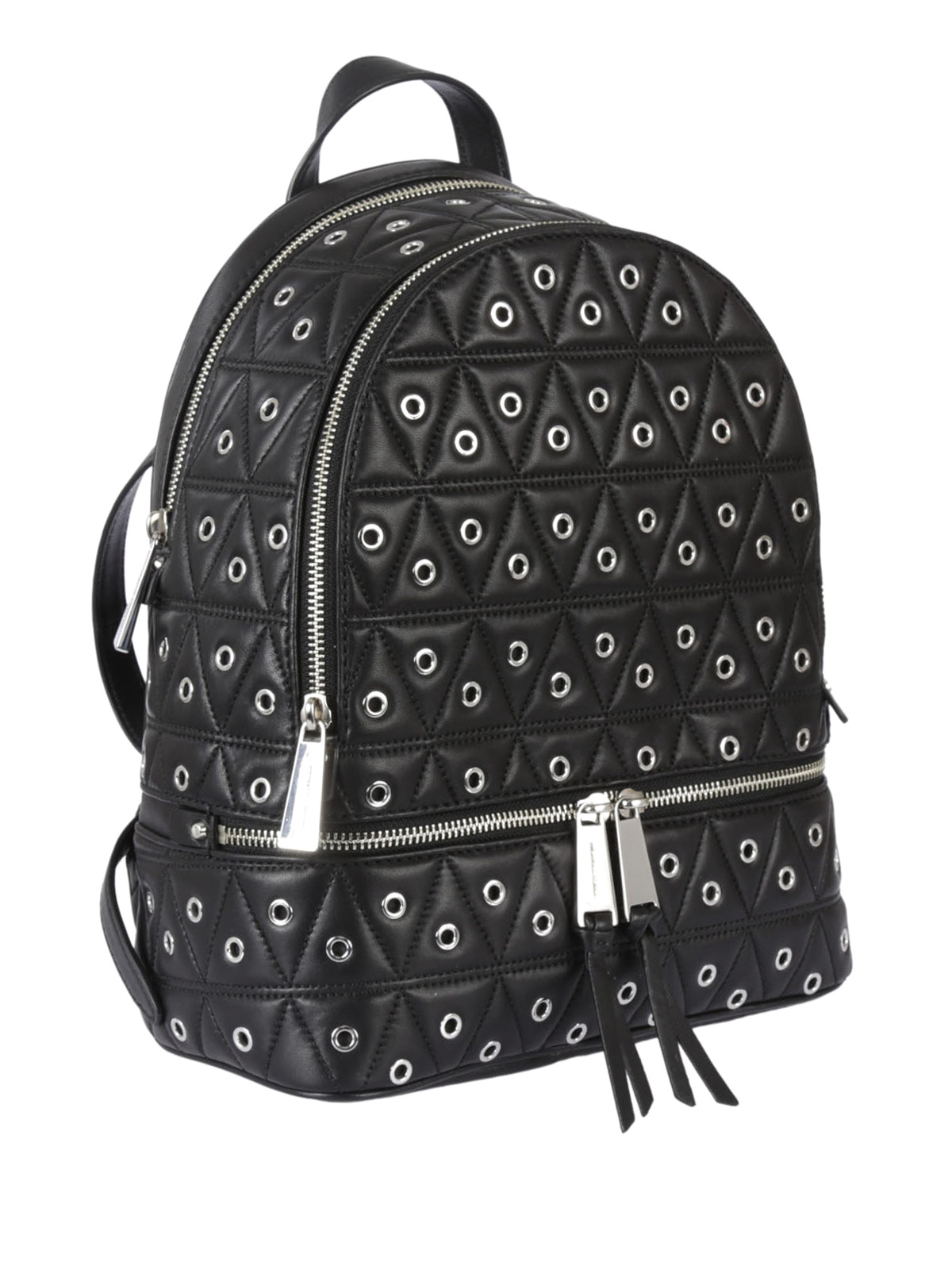 482f1ada61a779 Michael Kors - Rhea eyelet black backpack - backpacks - 30F7SEZB2L001