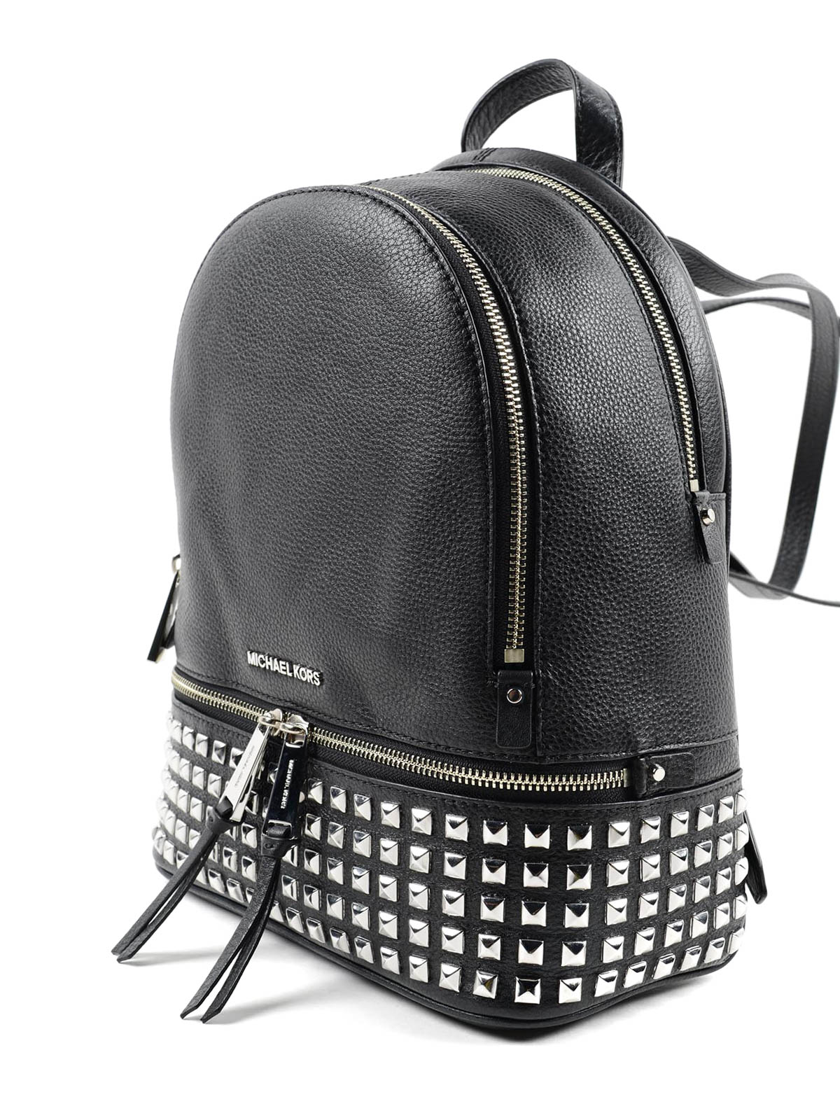 c7a7b637d2 MICHAEL KORS  backpacks online - Rhea small studded leather backpack