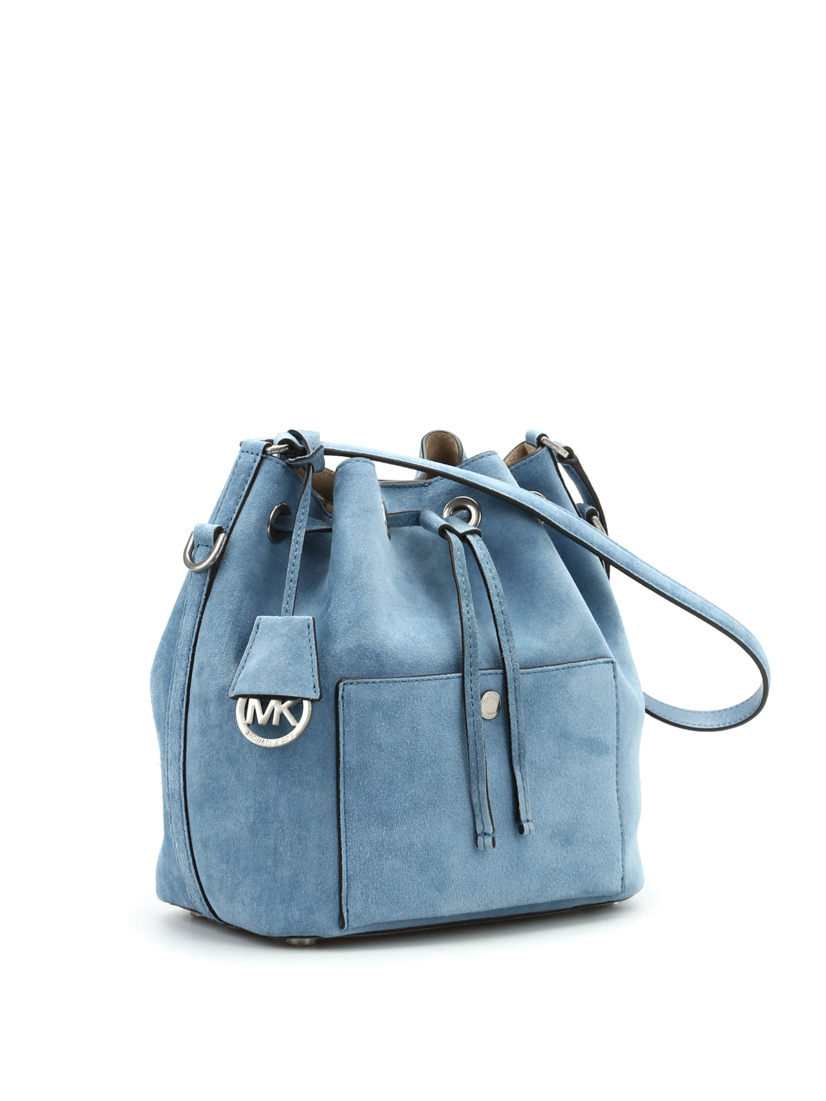 Michael Kors Greenwich Suede Bucket Bag Bags 30h5tgrm2s Authentic Online