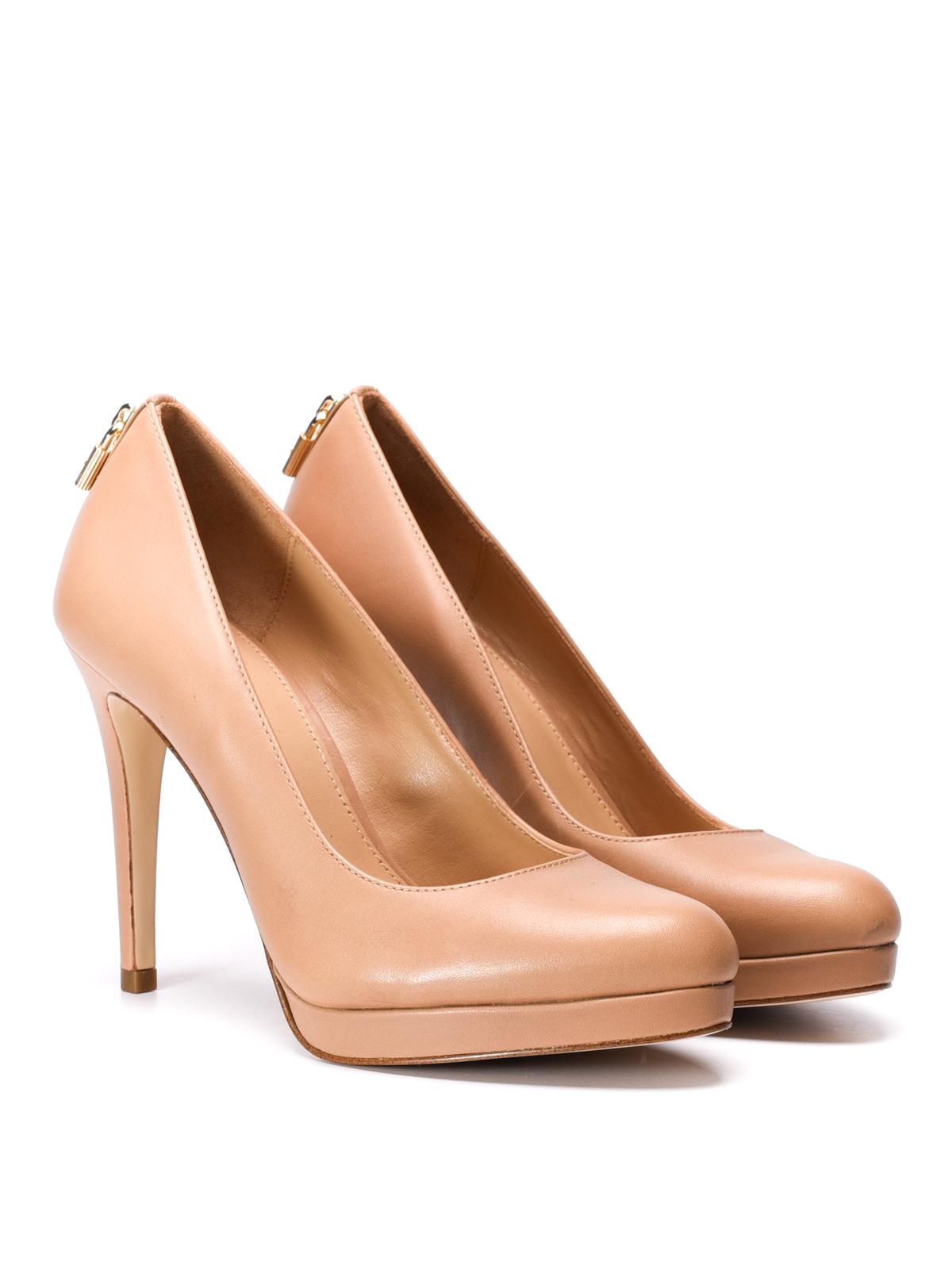 48d63db33e0a MICHAEL KORS  court shoes online - Antoinette leather platform pumps