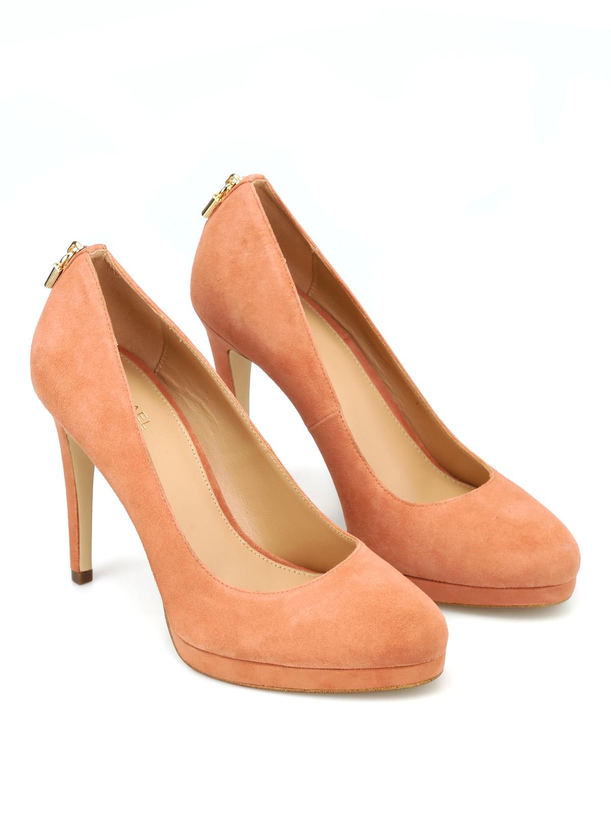 2439c6eb09cd4 Michael Kors - Antoinette suede pumps - court shoes - 40T8ATHP1S 238