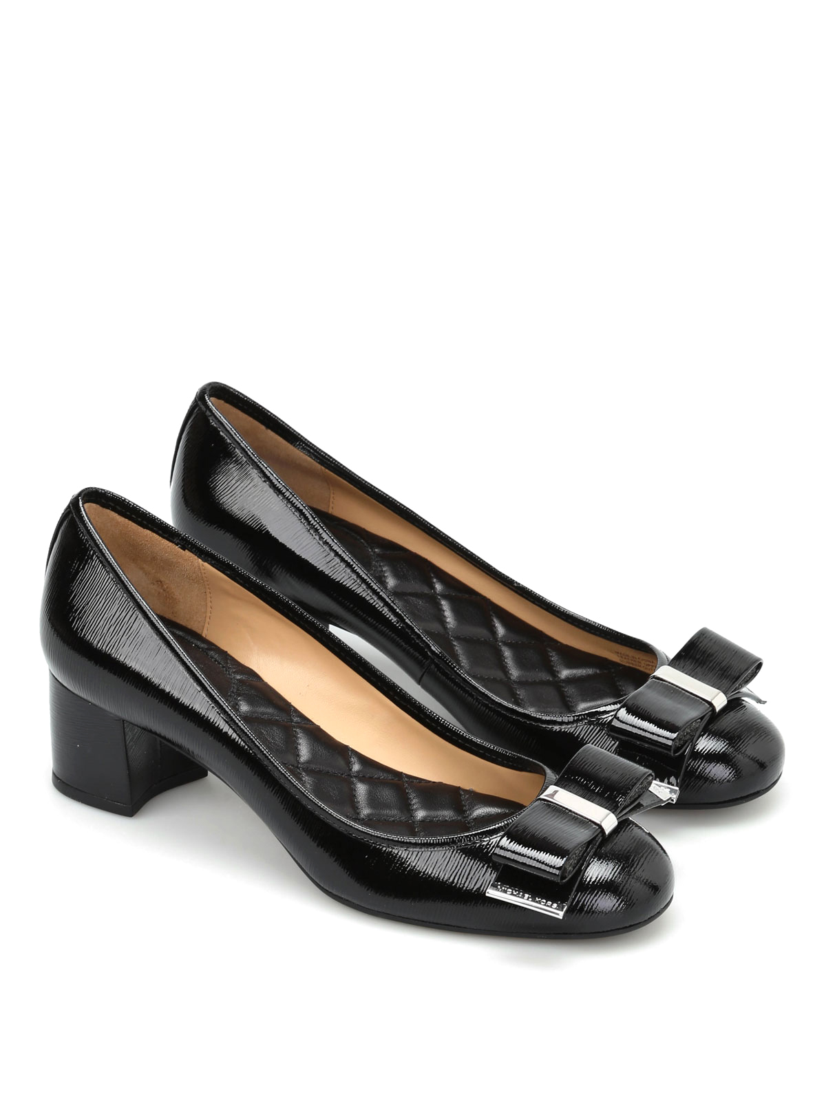 23e4f78c43b MICHAEL KORS  court shoes online - Kiera Flex patent leather mid pumps