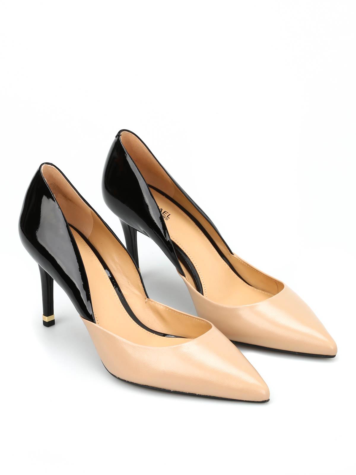 190357673da Michael Kors - Two-tone Ashby Flex Mid Pump - court shoes ...