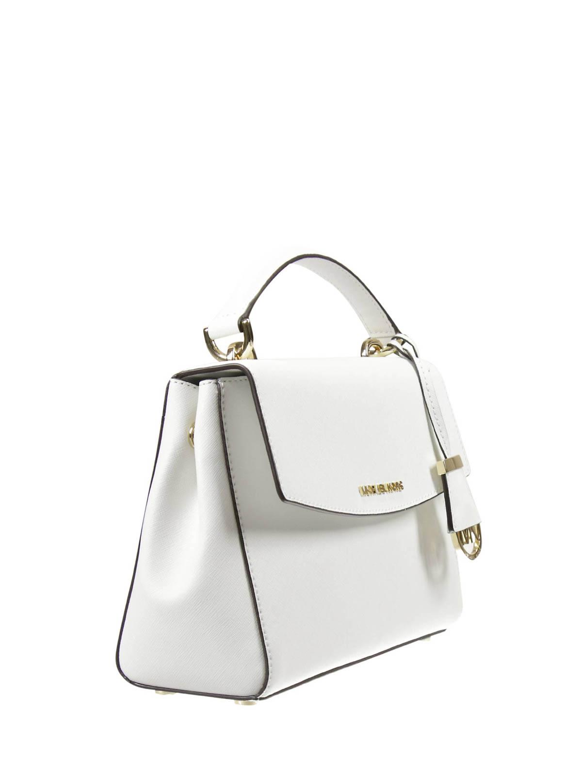 Michael Kors Ava small saffiano satchel cross body bags