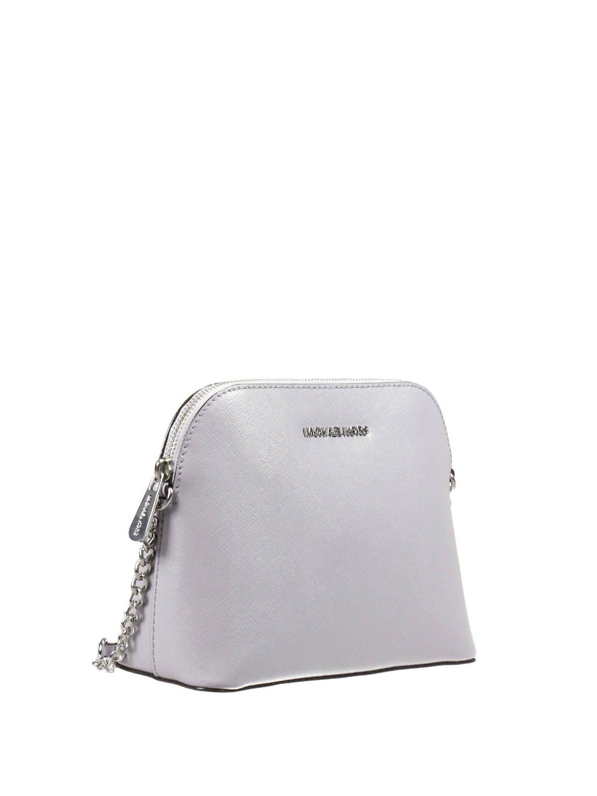 d416c705cc9966 MICHAEL KORS: cross body bags online - Cindy metallic Saffiano crossbody
