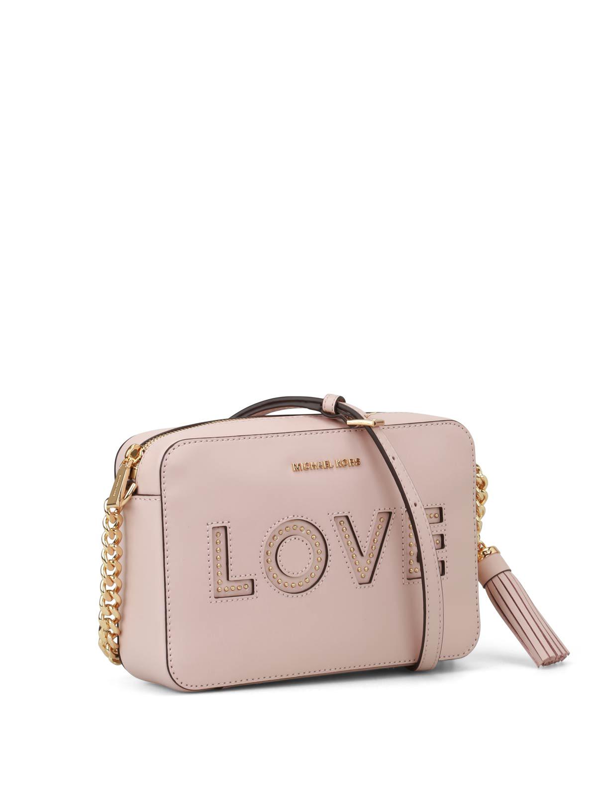 38e8365edf2fe MICHAEL KORS  cross body bags online - Ginny Love pink camera bag