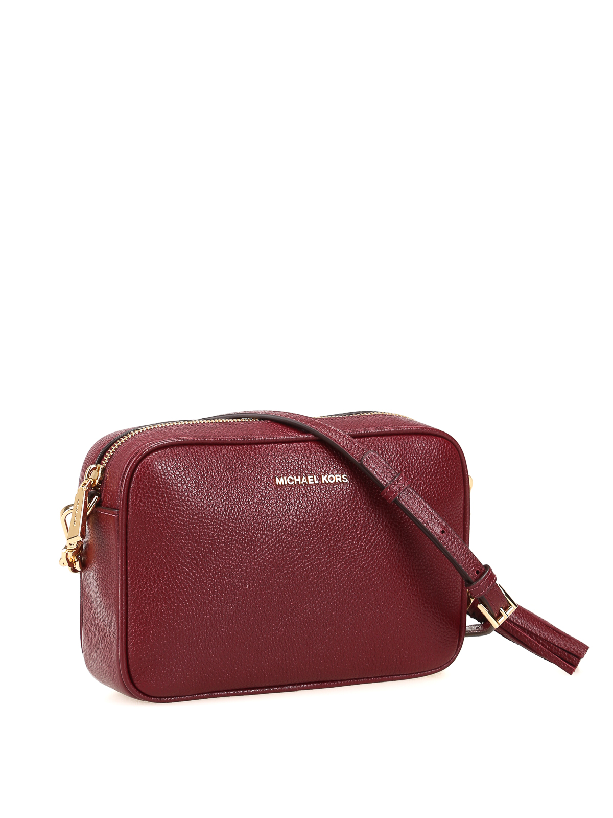 04b48015af7f21 MICHAEL KORS: cross body bags online - Ginny medium oxblood cross body bag