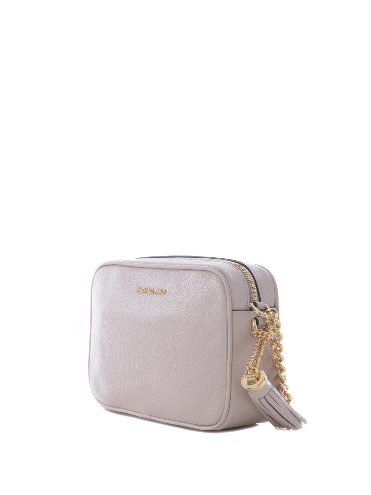 5829650ab728 MICHAEL KORS  cross body bags online - Ginny pink leather camera bag
