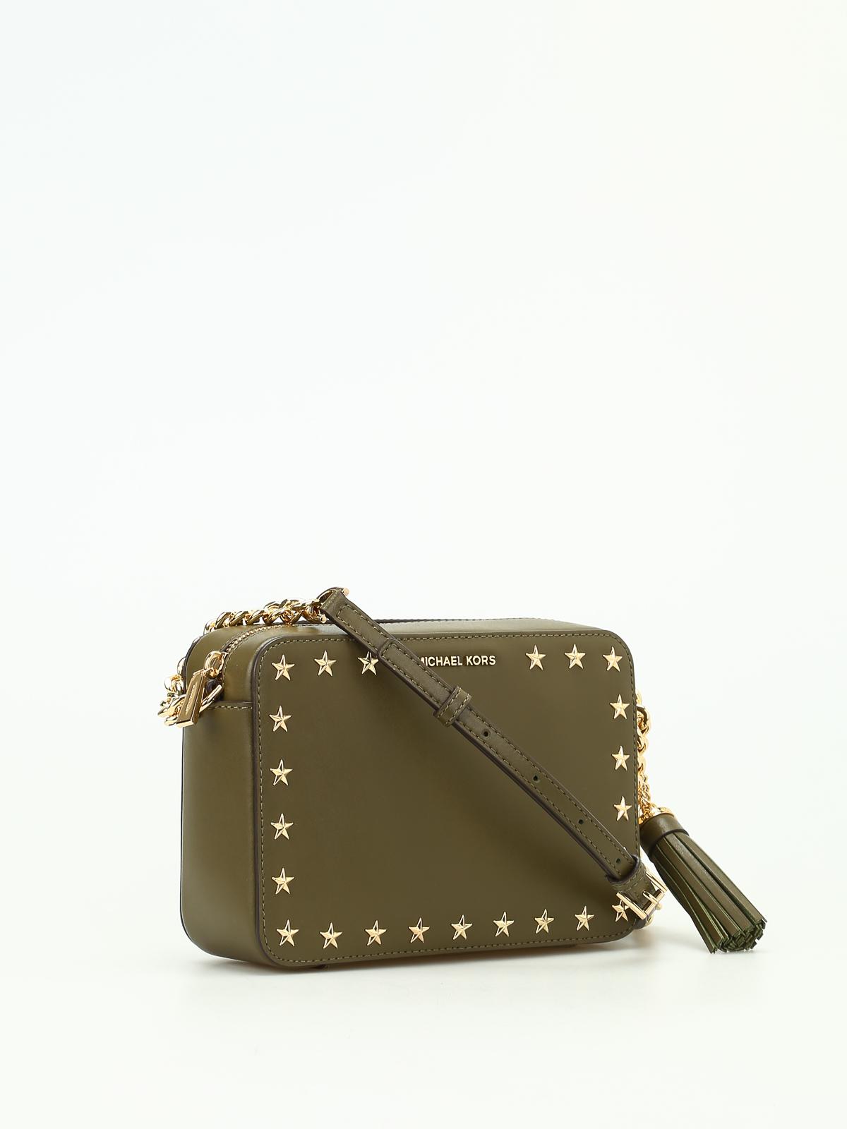 13477872ec6b MICHAEL KORS  cross body bags online - Ginny smooth leather camera bag