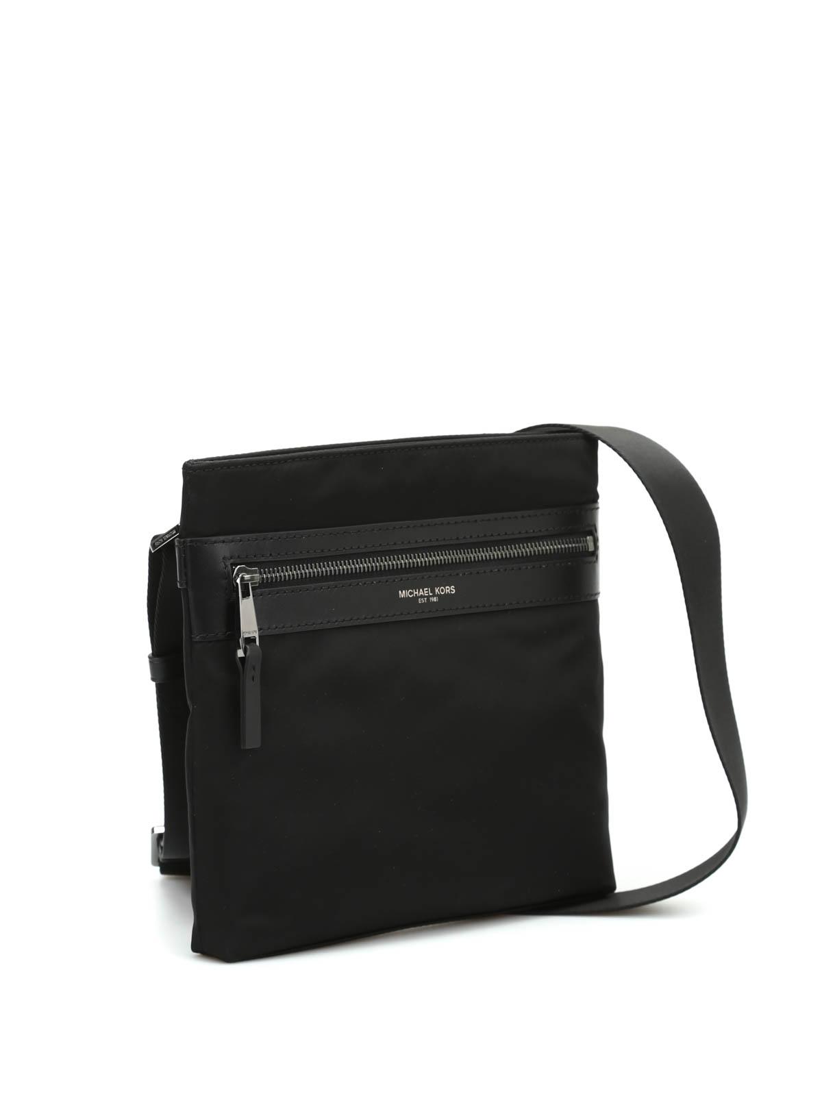 a09bba9fdc70 Michael Kors - Kent messenger bag - cross body bags - 33S6LKNC5C BLACK