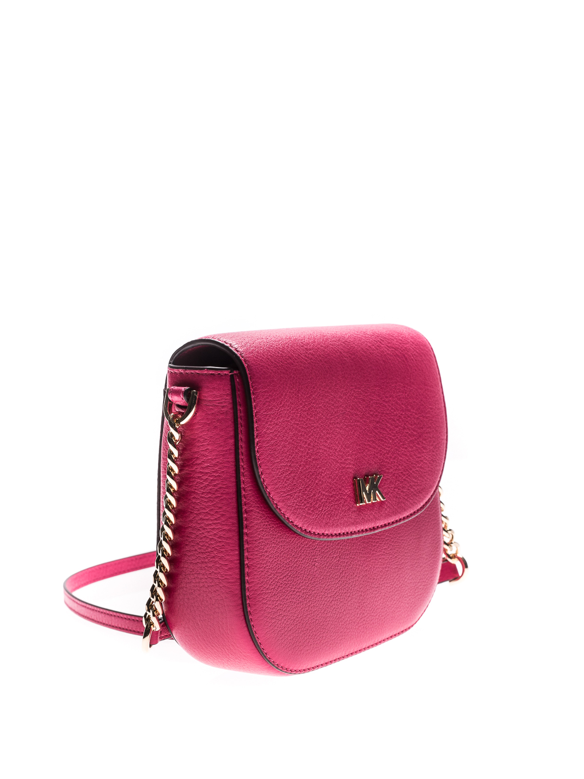 64b698f5b910 MICHAEL KORS: cross body bags online - Mott grainy leather dome crossbody