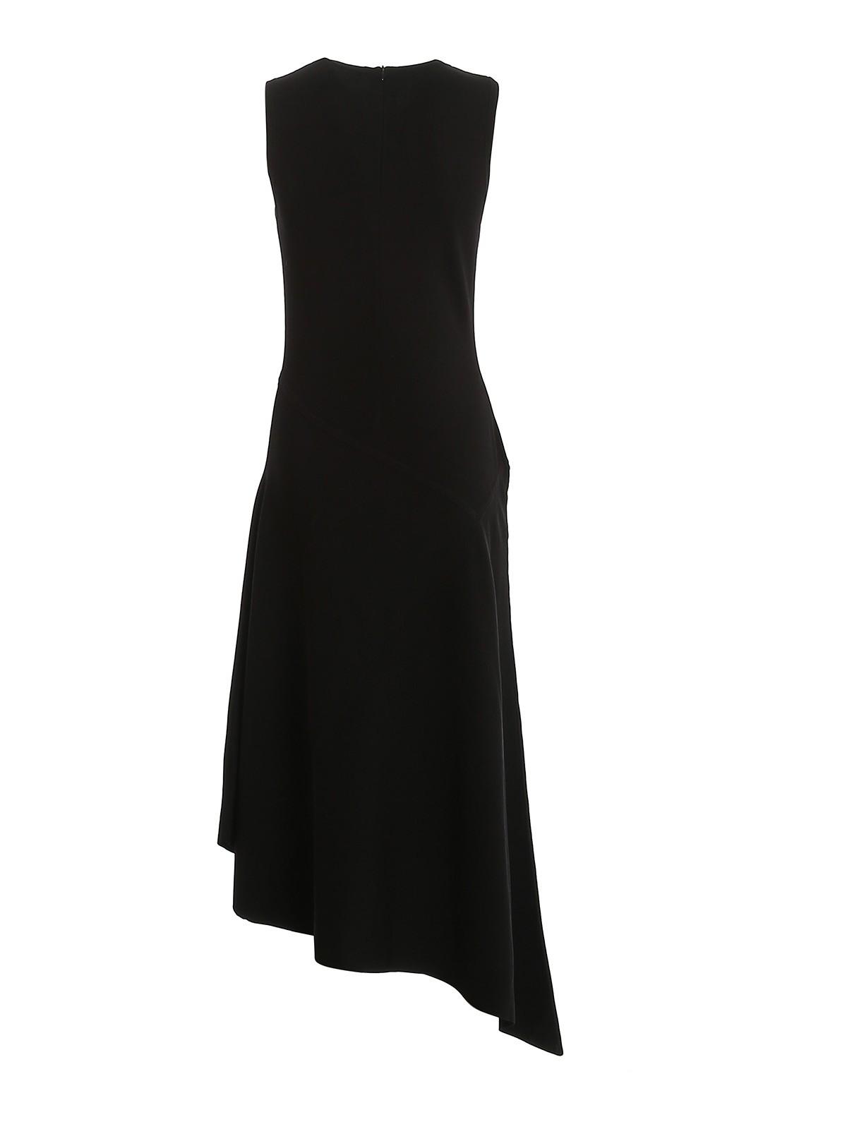 Michael Kors Knielanges Kleid Schwarz Knielange Kleider Mu08zrtbvcblack