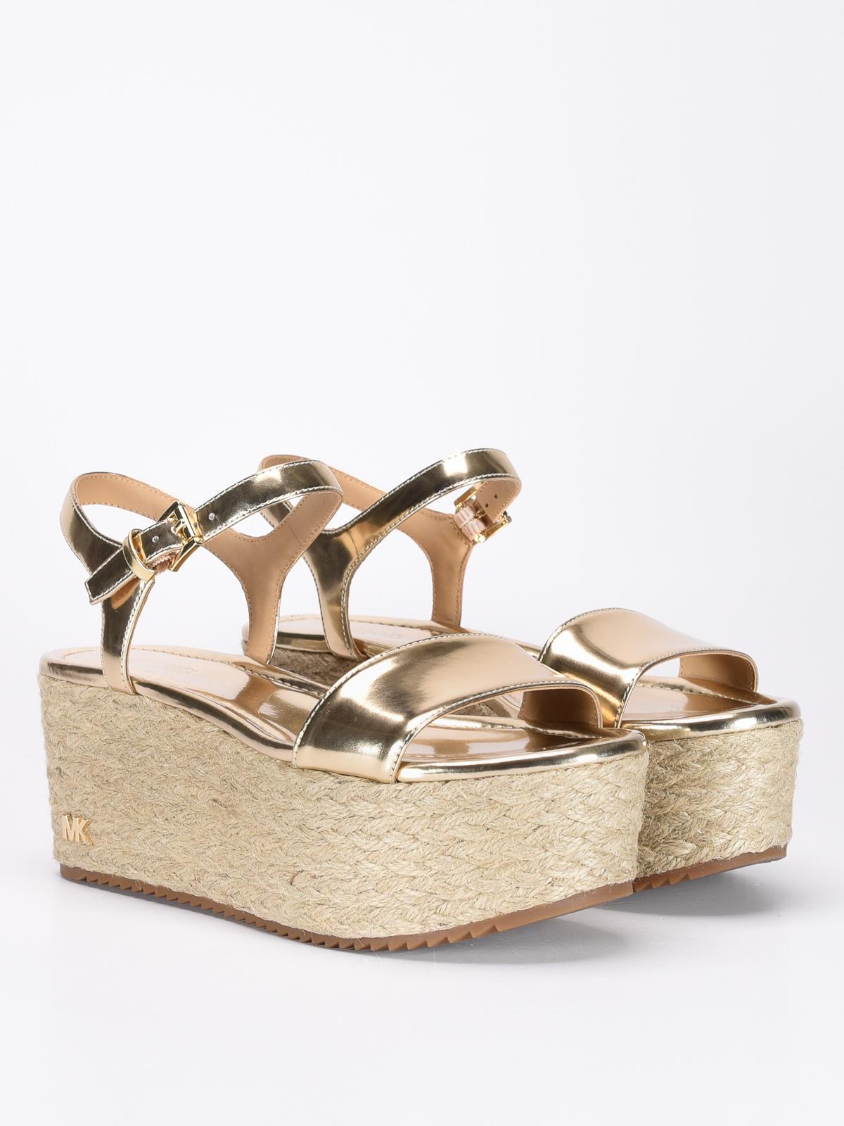 22f186acf88 Michael Kors - Nantucket wedge sandals - sandals - 40SNAFA3M