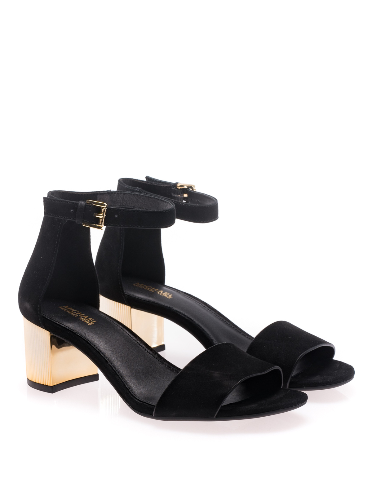 Michael Kors - Paloma Flex gold heel