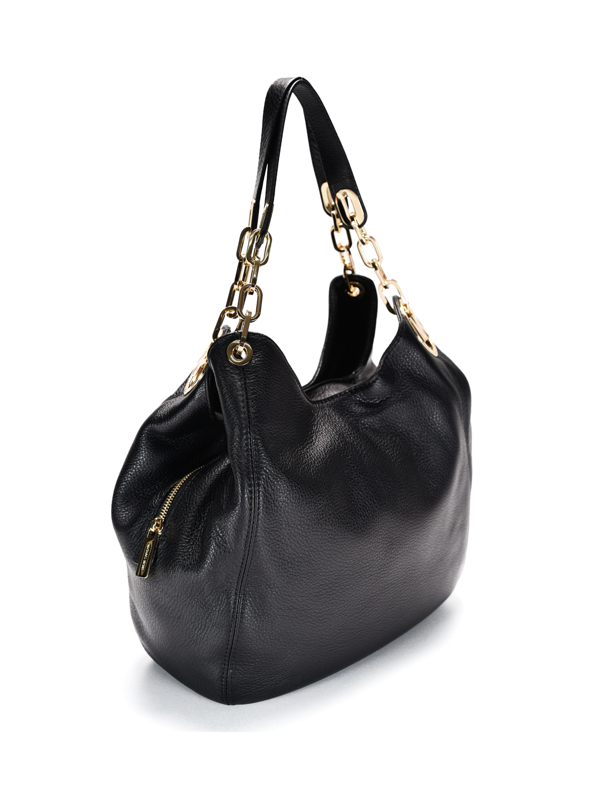 eced80c49b8e MICHAEL KORS: shoulder bags online - Fulton large black leather shoulder bag