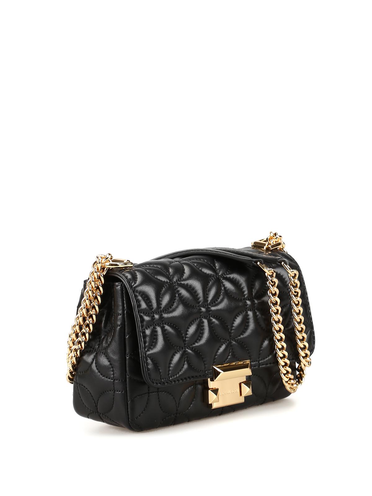 482015f966441 MICHAEL KORS  shoulder bags online - Sloan black quilted small shoulder bag