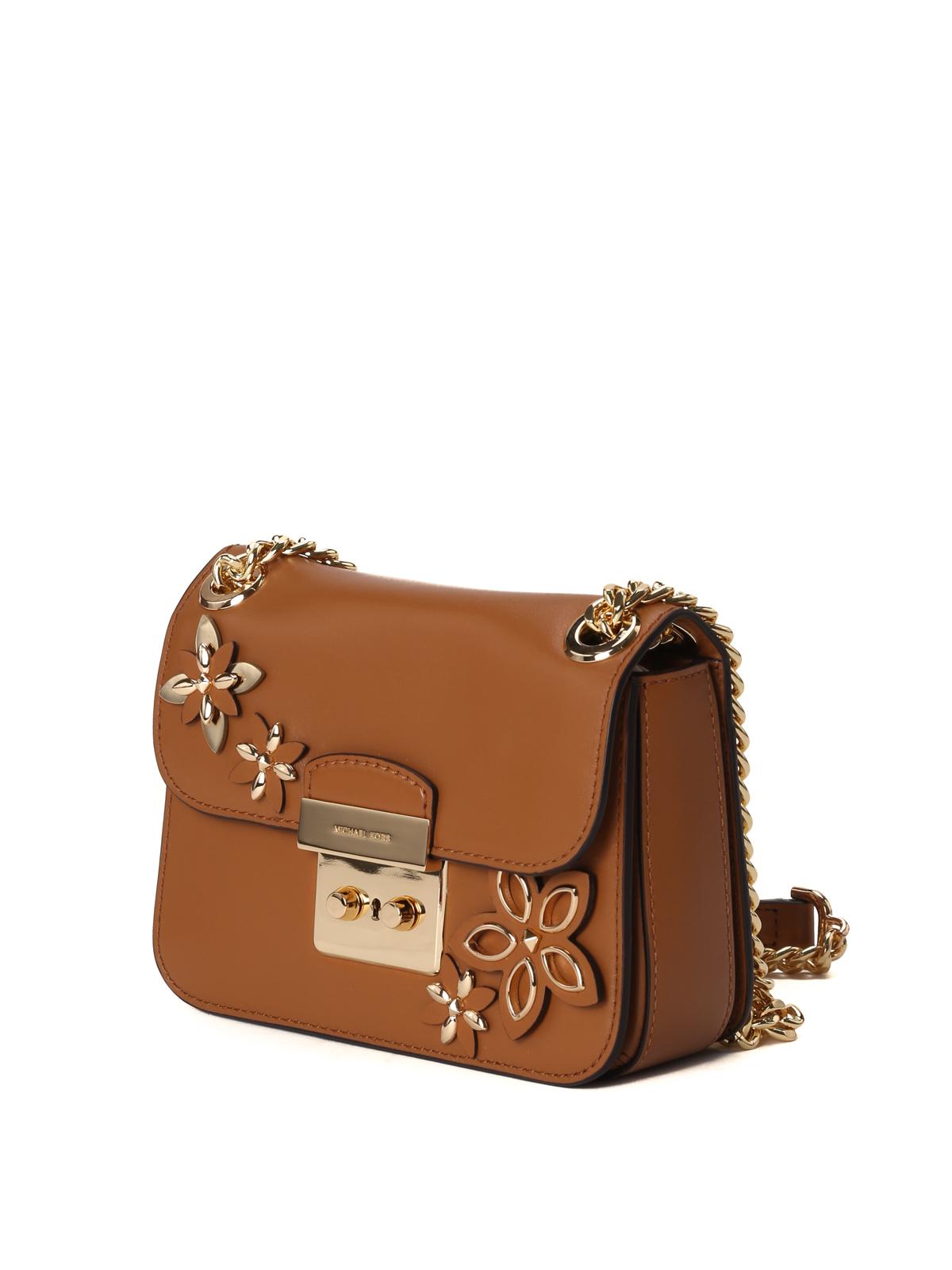376174febe0b MICHAEL KORS: shoulder bags online - Sloan flower appliqué small bag