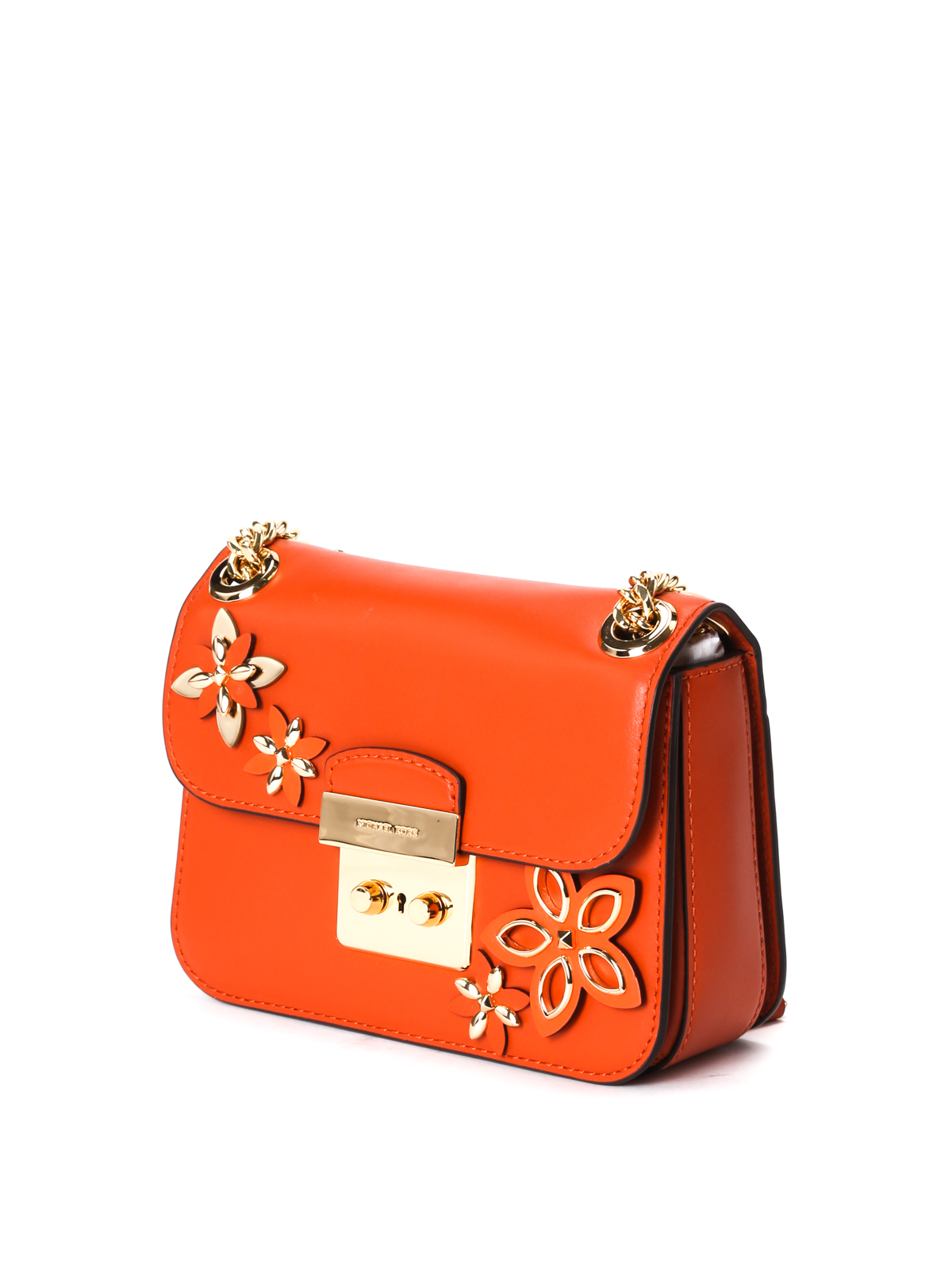 ab3a16e99ecb ... purchase michael kors shoulder bags online sloan flower appliqué small  bag 008f3 bf815