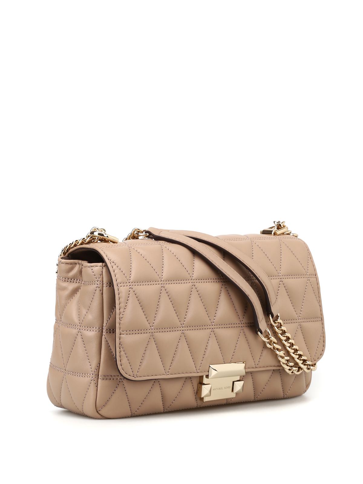 4c3dece2b986 MICHAEL KORS: shoulder bags online - Sloan large diamond quilted shoulder  bag