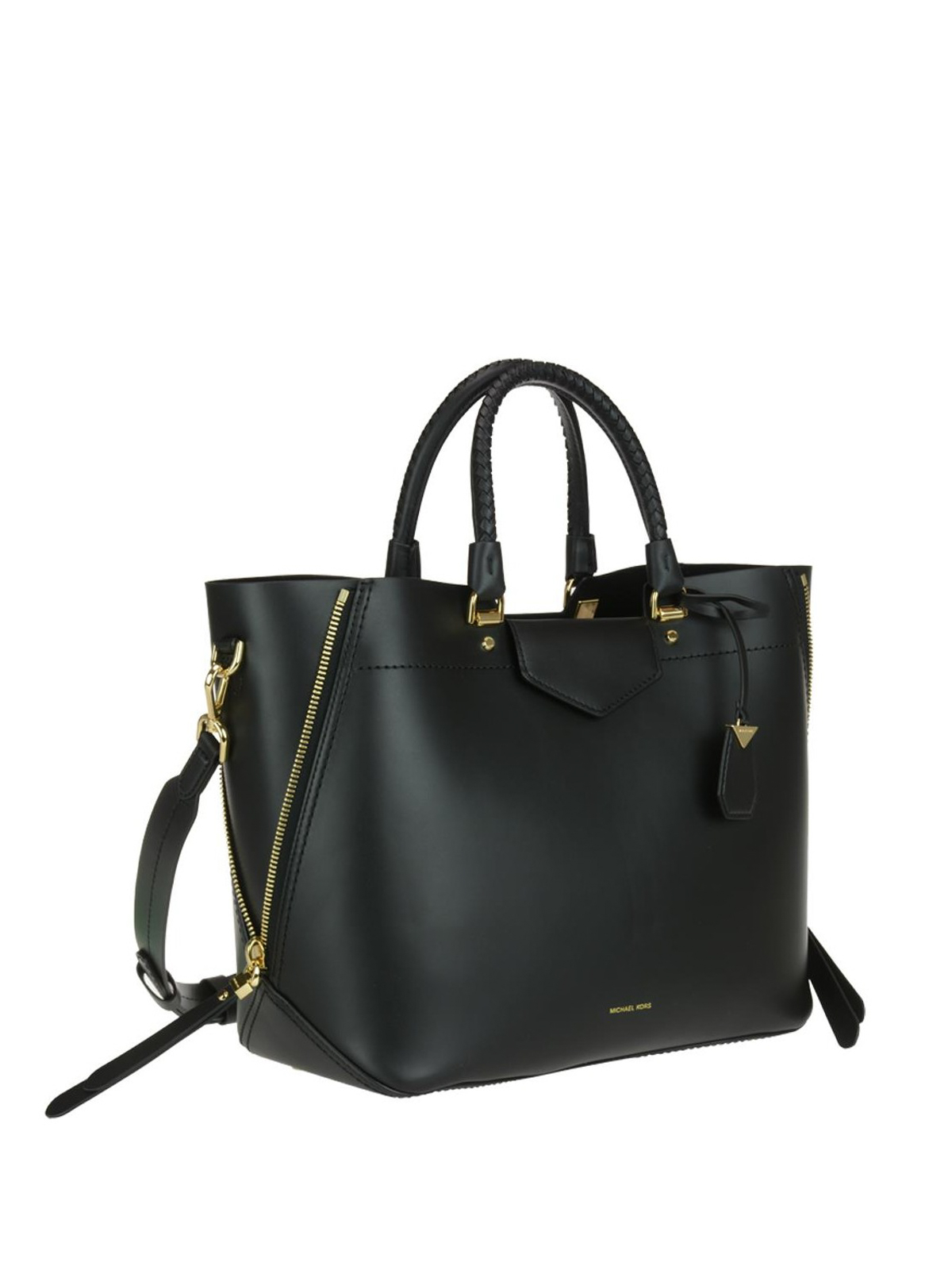 1e4ab93a19c8b Michael Kors - Blakely black leather tote - totes bags - 30S8GZLT3L001